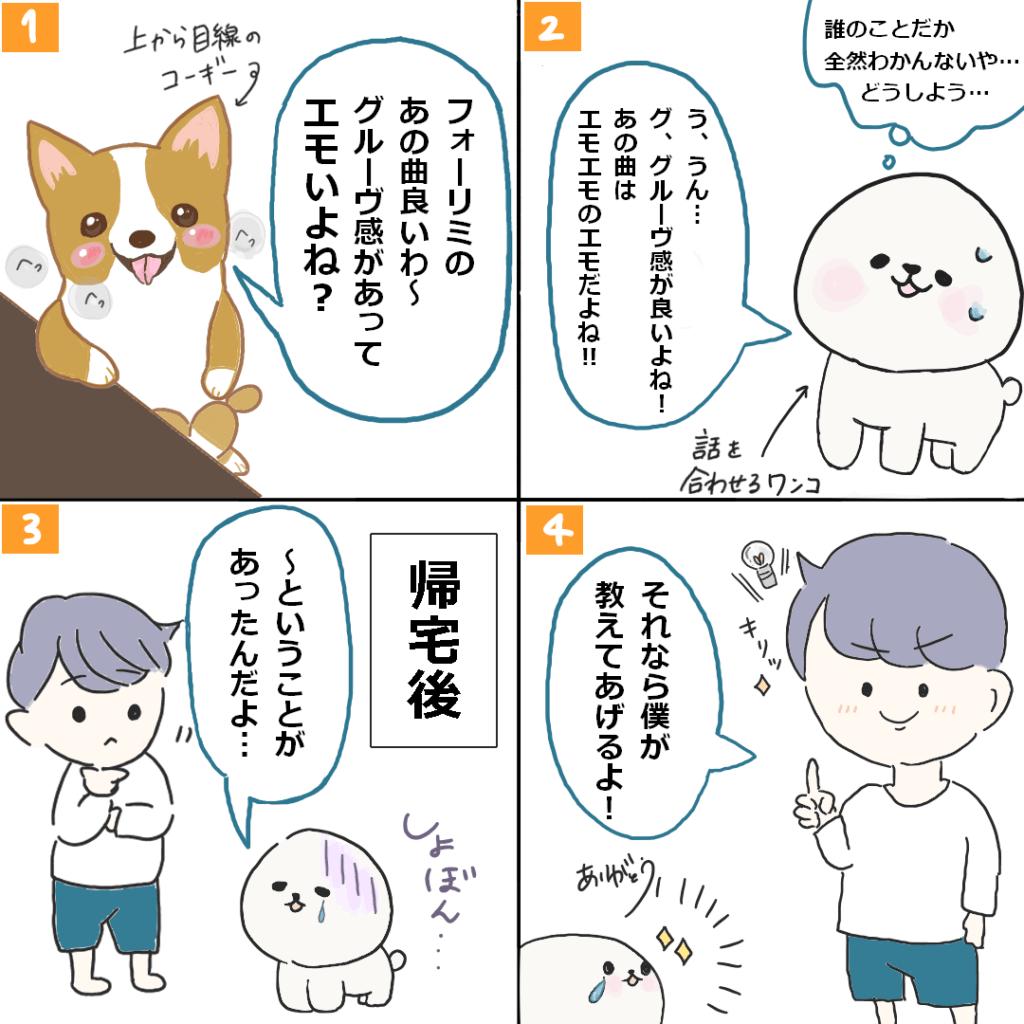 04 Limited Sazabys悩み解決4コマ漫画